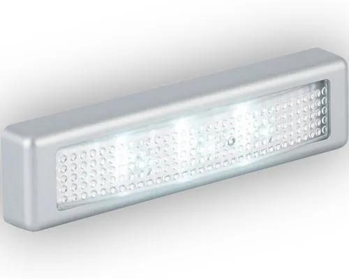 Aplica cu LED integrat Lero 0,18W 18 lumeni, argintiu