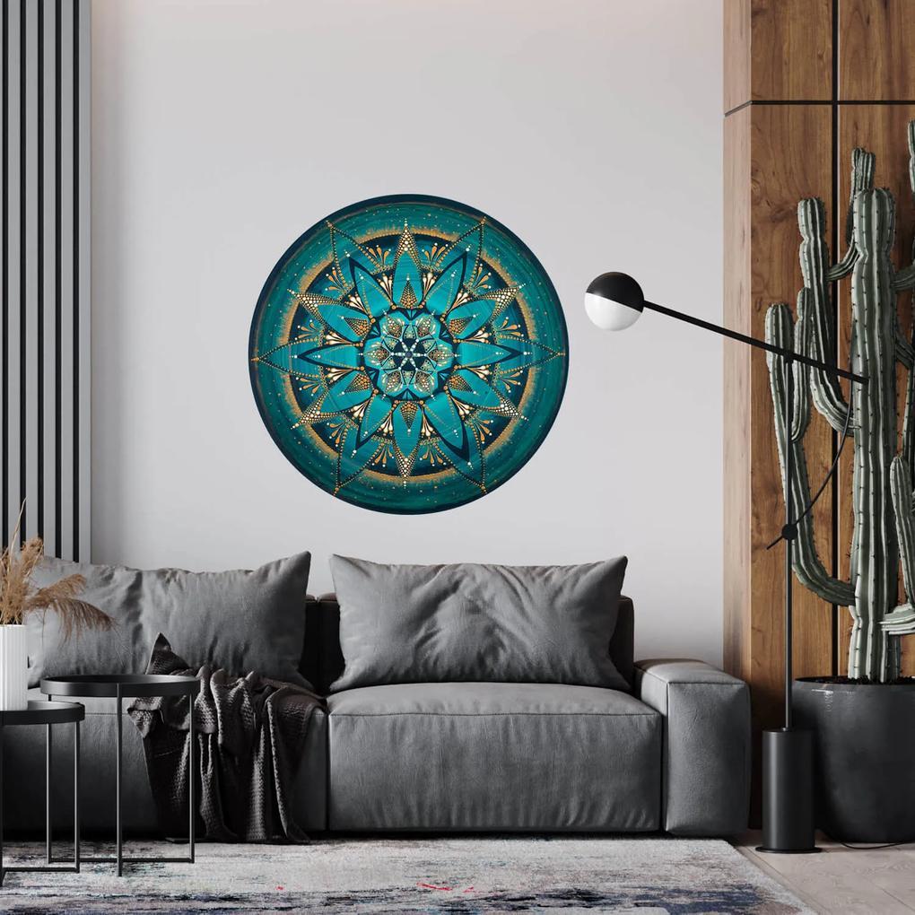 Sticker pentru perete - Mandala    Despre adevar    100 cm