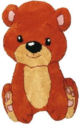 Covor pentru copii Shaggy Bear 80x120cm
