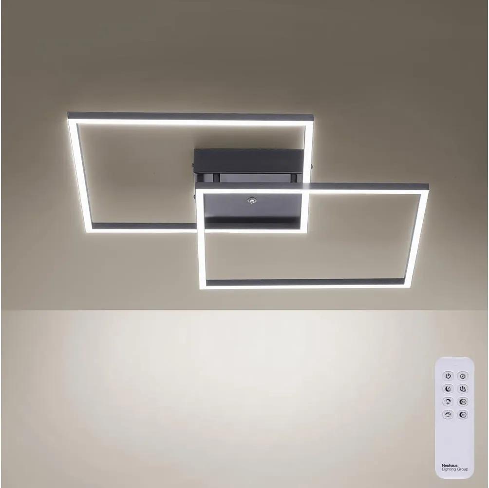 Paul Neuhaus 6437-18 - LED Lustră aplicată dimmabilă INIGO 2xLED/12,5W/230V