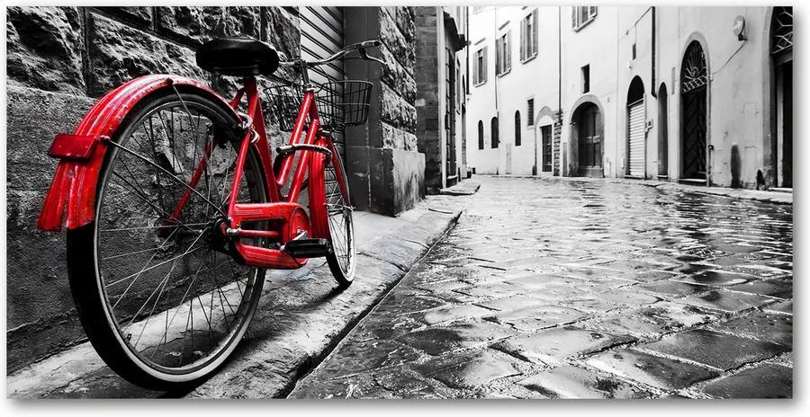 Tablou din Sticlă Bicicletă roșie