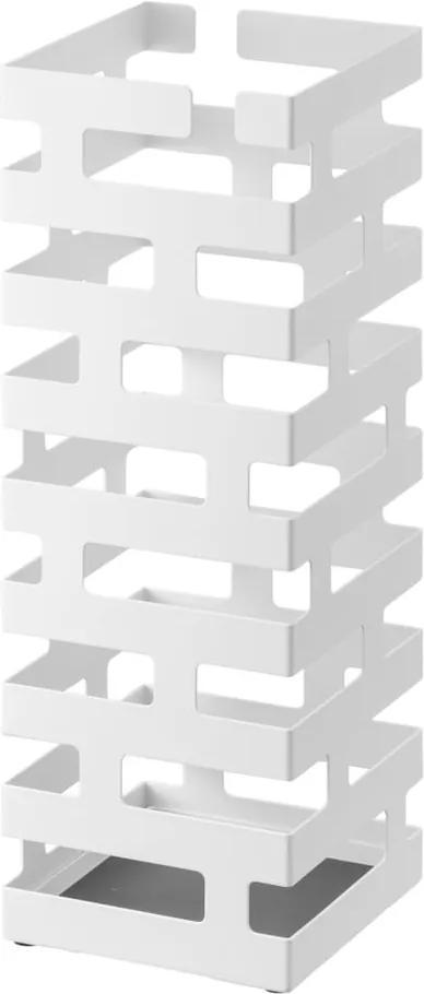 Suport pentru umbrele YAMAZAKI Brick, alb