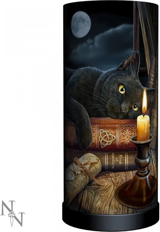 Veioză cu pisică Ora vrăjitoarelor