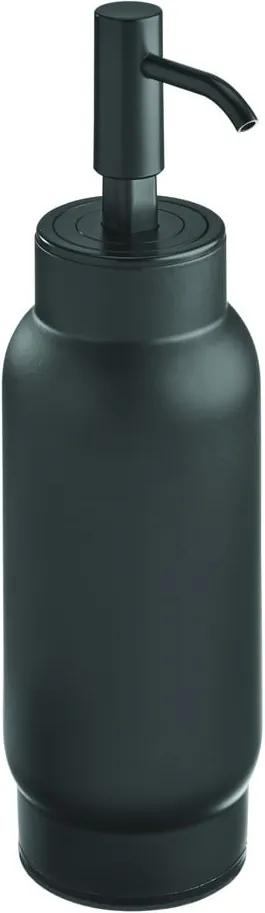 Dozator săpun iDesign Austin, 700 ml, negru