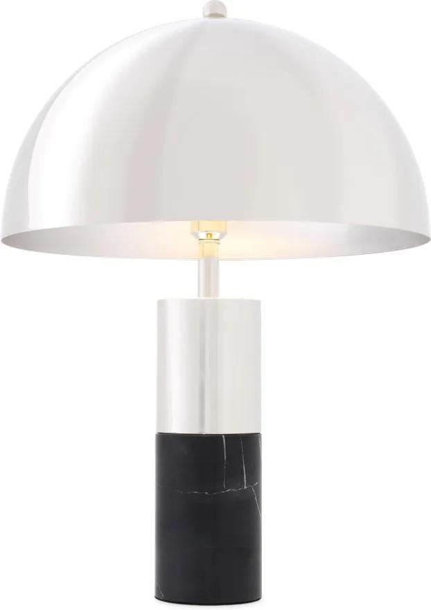 Lampa de birou Flair Black Marble Nickel