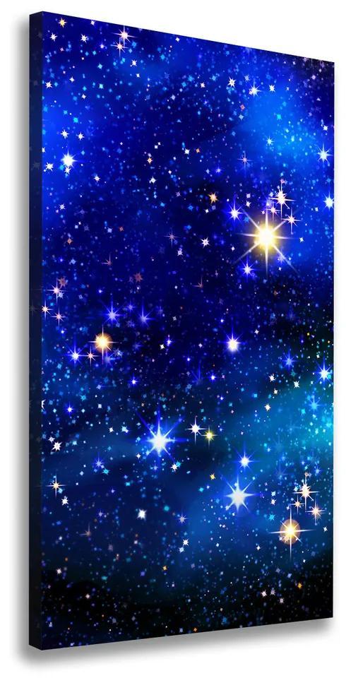 Tablou pe pânză canvas Cer înstelat