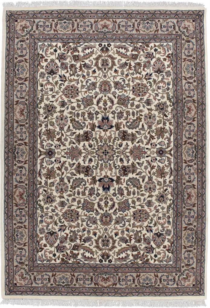 Covor Oriental & Clasic Benares, Crem/Maro, 120x180 cm