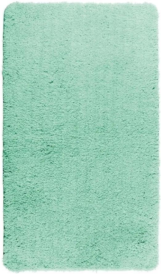 Covor baie Wenko Belize, 90 x 60 cm, albastru turcoaz