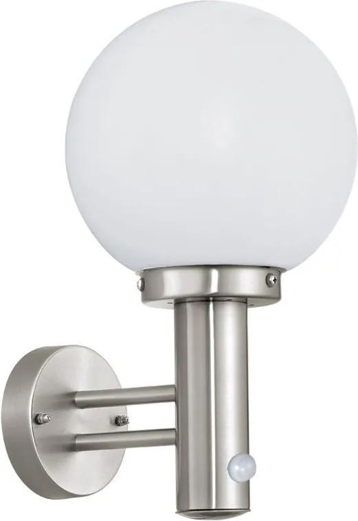 Eglo 27126 - Corp de iluminat exterior cu senzor NISIA 1xE27/60W/230V