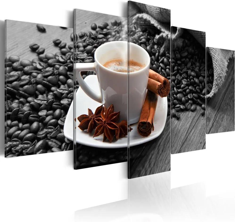Tablou Bimago - Cinnamon relaxation 100x50 cm