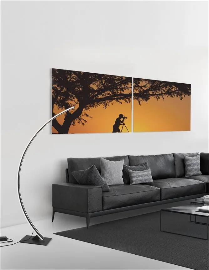 Lampadar Tehnic BRETON Nova Luce Modern, Led, 9348092, Grecia