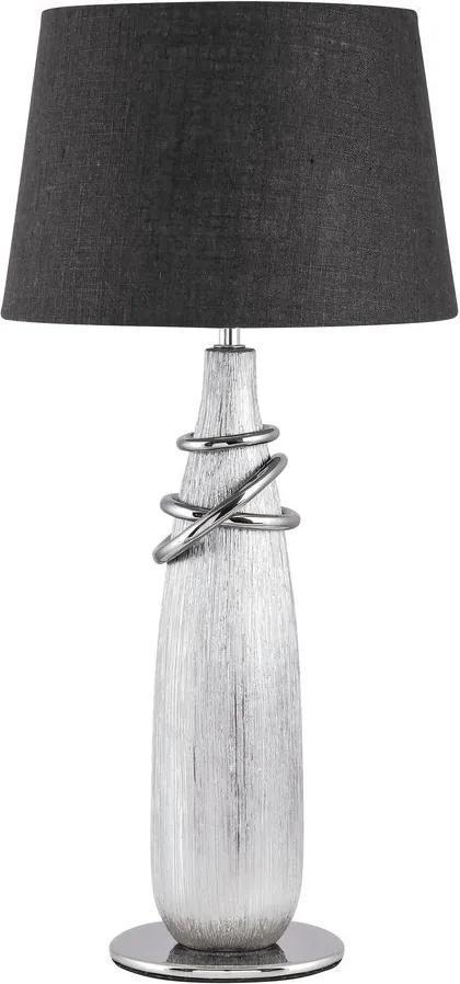 Rábalux Evelyn 4390 Lampa de masa de noapte argintiu ceramică E27 MAX 40W IP20