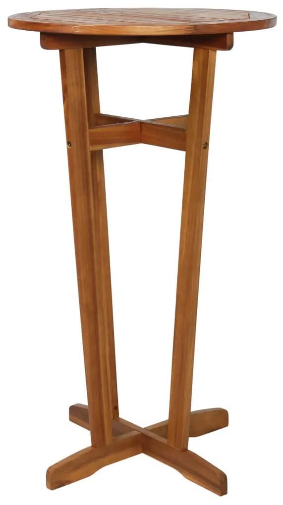 44009 vidaXL Masă de bar, 60 x 105 cm, lemn masiv de acacia