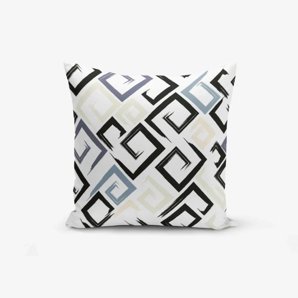 Față de pernă Minimalist Cushion Covers Geometric Model, 45 x 45 cm
