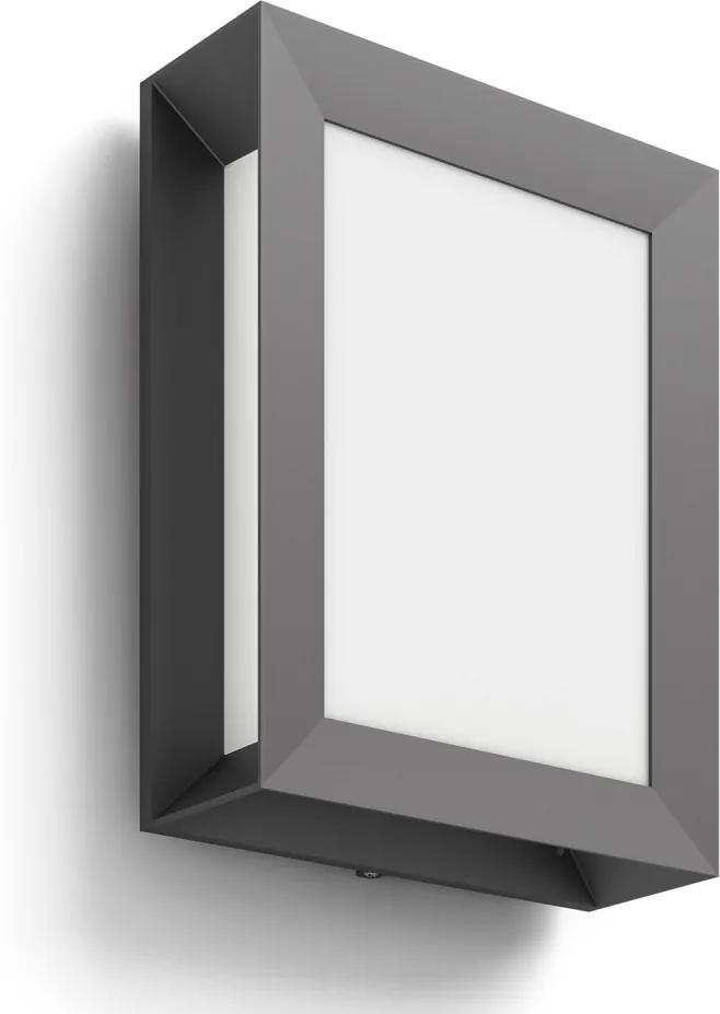 Philips 17293/93/16 - Corp de iluminat perete exterior MYGARDEN KARP 1xLED/6W/230V