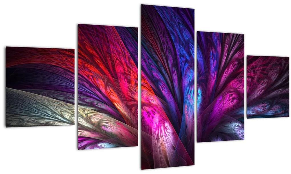 Tablou abstract cu copacul (125x70 cm), în 40 de alte dimensiuni noi