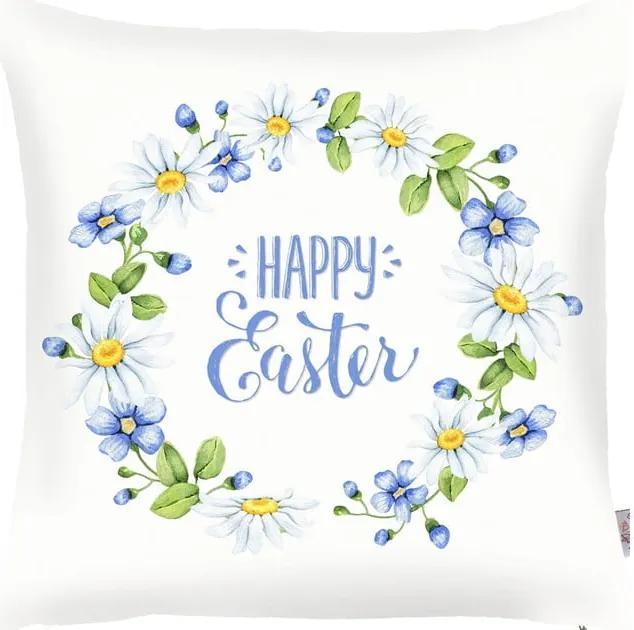 Față de pernă Apolena Happy Easter Time, 43 x 43 cm