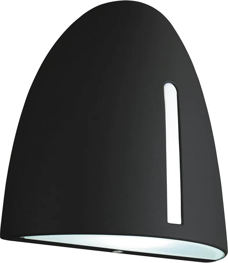 Rábalux Glasgow 8519 Aplice pentru iluminat exterior negru E27 1x MAX 7W 180 x 185 mm