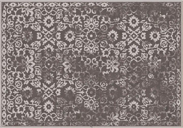 Covor vintage 160x230 cm, maro, MORIA