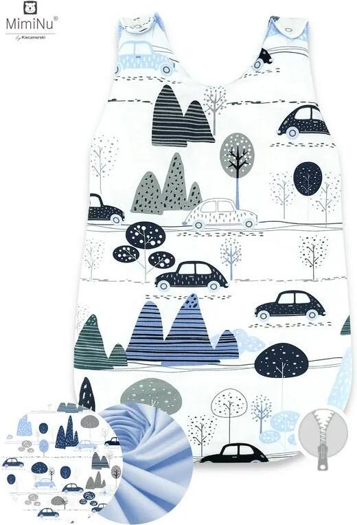 MimiNu -  Sac de dormit de iarna, 70 cm, 0 – 6 luni, Childrens Journey