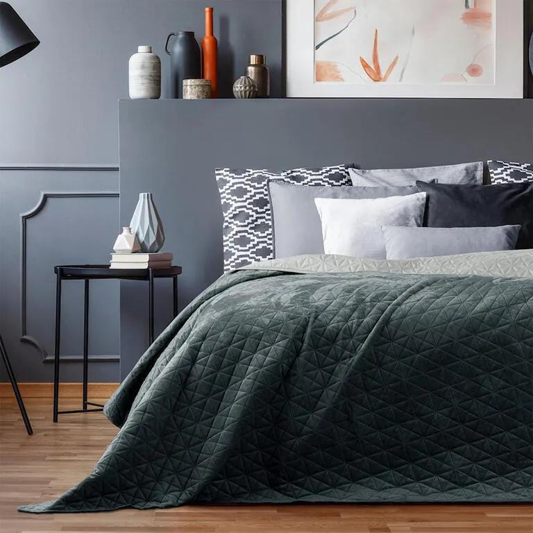Cuvertură de pat LAILA gri pat de o persoană
