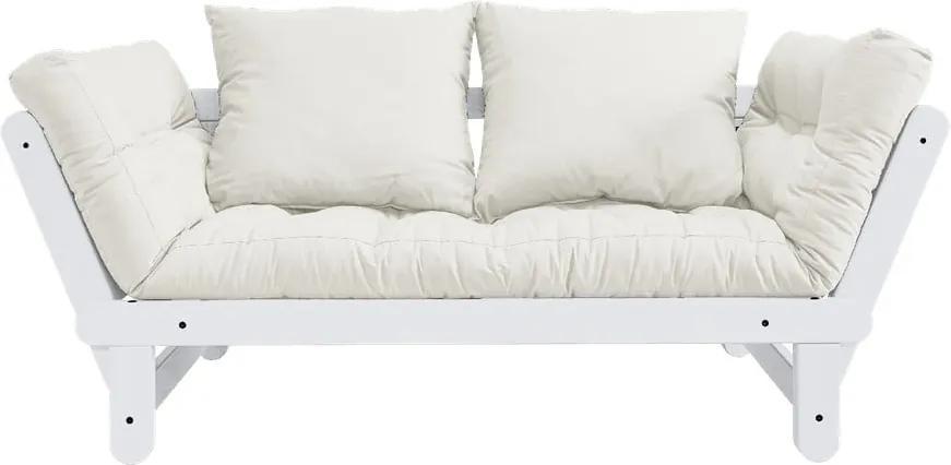 Canapea variabilă KARUP Design Beat White/Natural