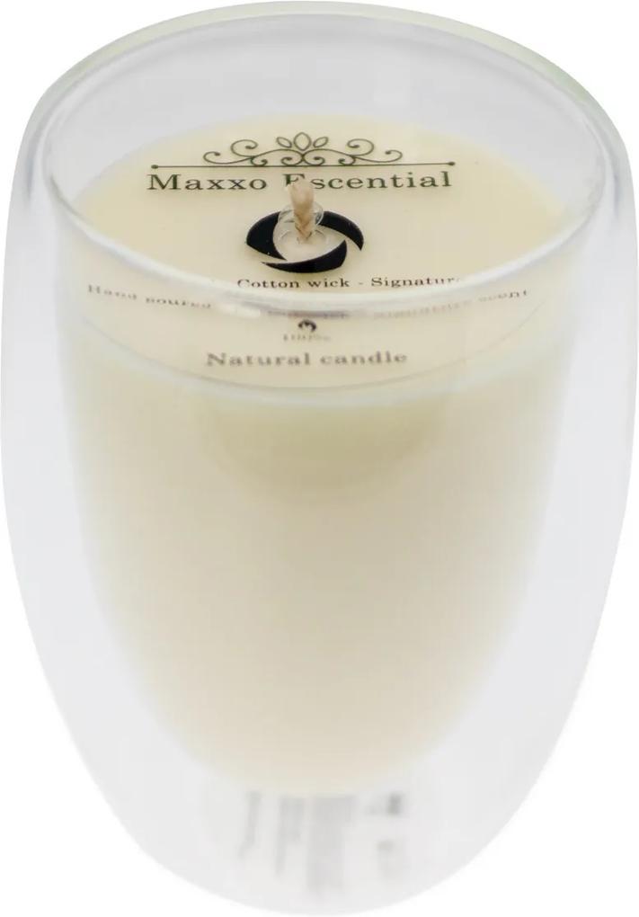Maxxo Escential Lumânare în borcan Orchid Noir,ceară naturală, 250 g