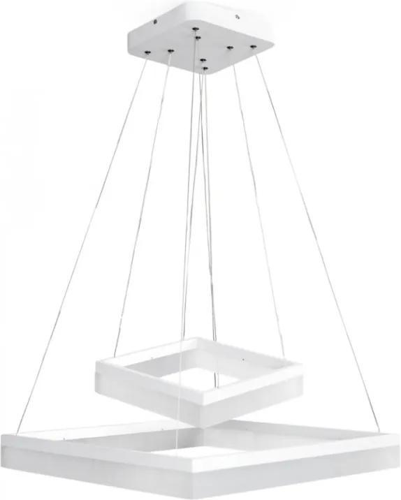 LED Lustra ONDAREN QUADRO LED/55W/230V