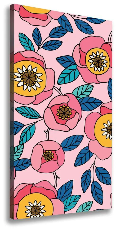 Imprimare tablou canvas Flori colorate