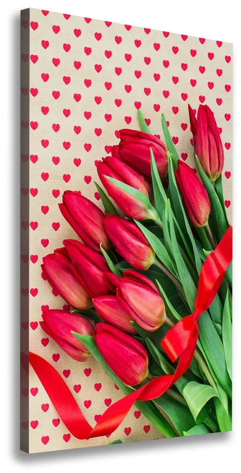 Tablou canvas Lalele rosii