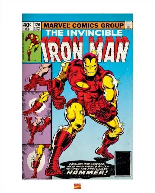 Iron Man Reproducere, (40 x 50 cm)
