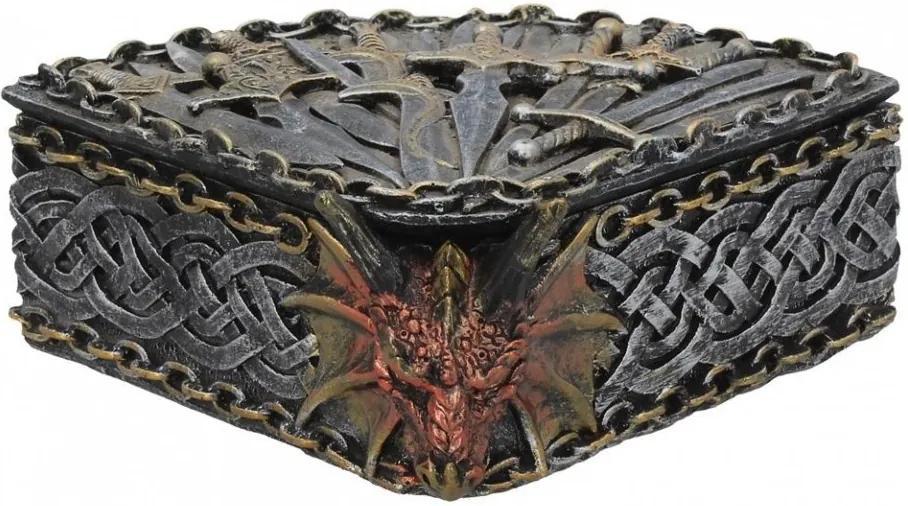 Cutie bijuterii Regatul dragonului