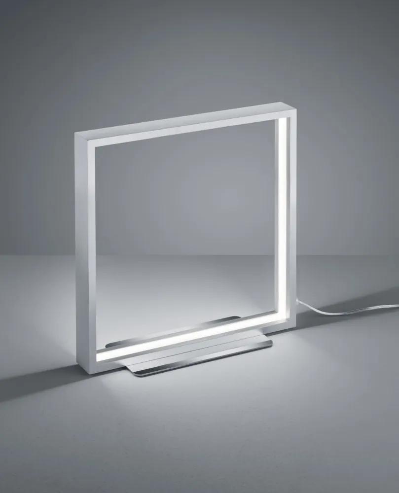 Trio 579910105 Veioze, Lampi de masă AZUR Aluminiu periat aluminiu incl. 1 x SMD, 9W, 3000K, 800Lm 800lm IP20 A+