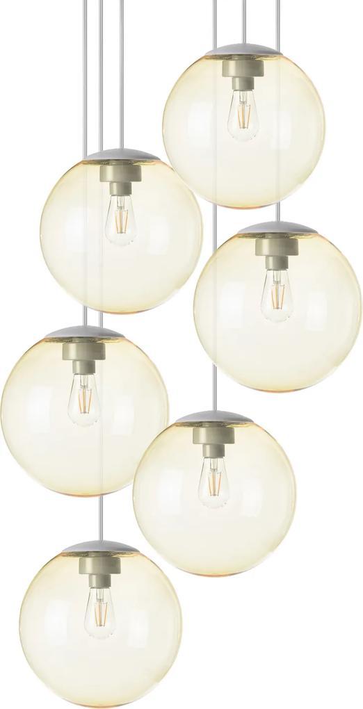 """Lustră """"spheremaker 6"""", 9 variante - Fatboy® Culoare: light yellow"""