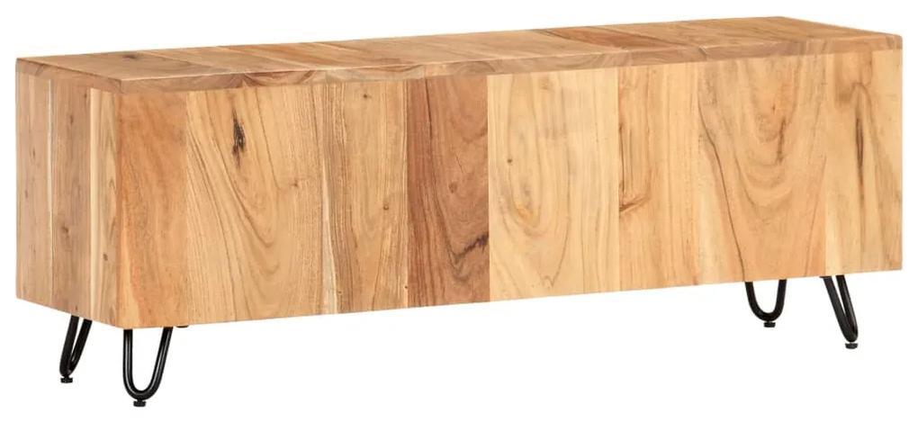 320934 vidaXL Comodă TV, 110 x 30 x 40 cm, lemn masiv de acacia