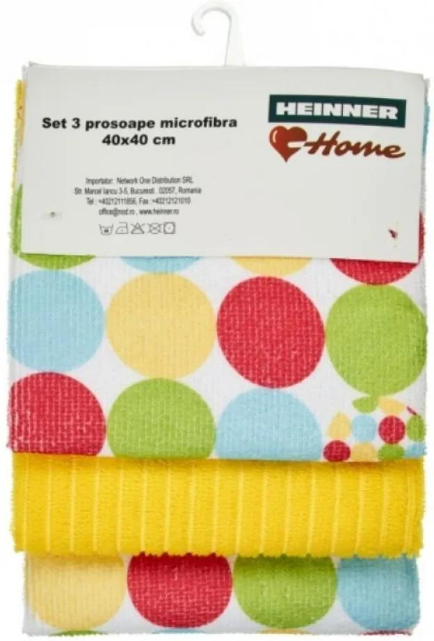 Set 3 Prosoape Microfibra - Yellow