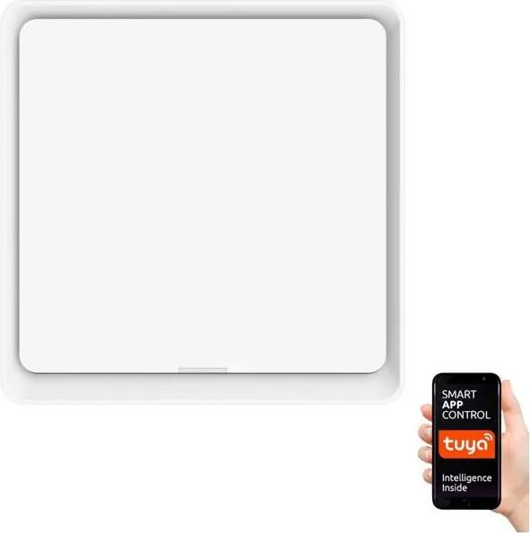 Întrerupător cu 1 buton Immax NEO 07506L SMART 1xCR2430 Zigbee 3.0 Tuya