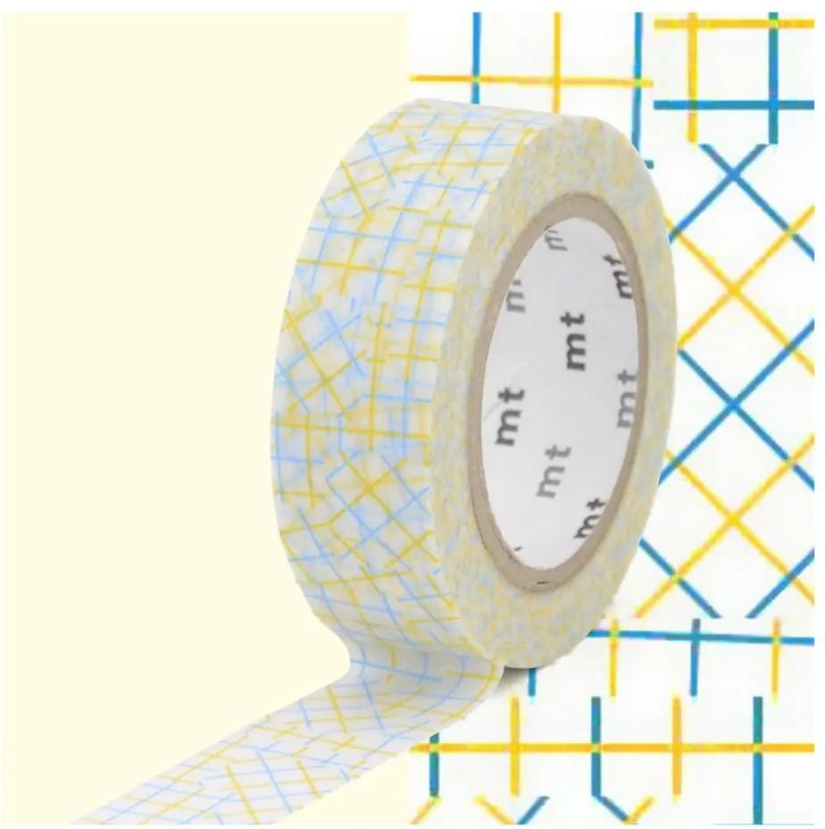 Bandă decorativă Washi MT Masking Tape Cecile, rolă 10 m