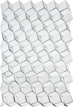 Oglinda dreptunghiulara din sticla 93x145 cm Cubes Versmissen