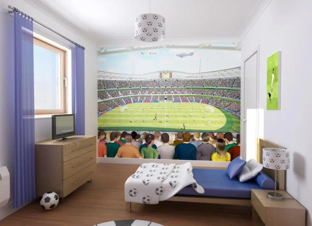 Walltastic Bláznivý fotbal - fototapet pe perete 305x244 cm