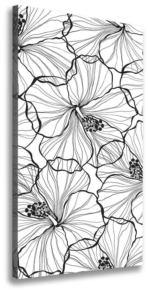Pictură pe pânză Hibiscus