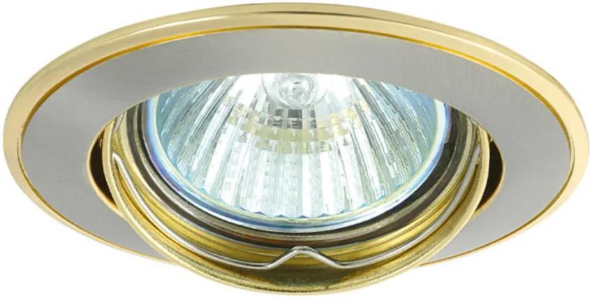 Kanlux 2803 Spoturi incastrate Bask auriu aluminiu 1 x MR-16 max. 50W IP20