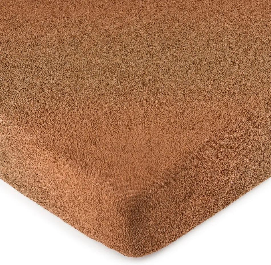 Cearșaf pat 4Home, din bumbac, maro, 180 x 200 cm, 180 x 200 cm