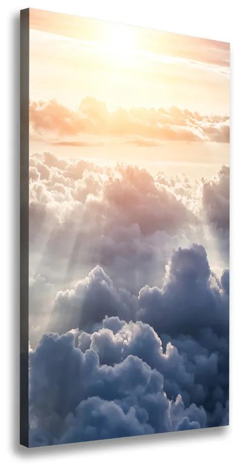 Tablouri tipărite pe pânză Zbor deasupra norilor