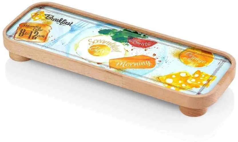 Platou Baton Breakfast 31 x 21 cm
