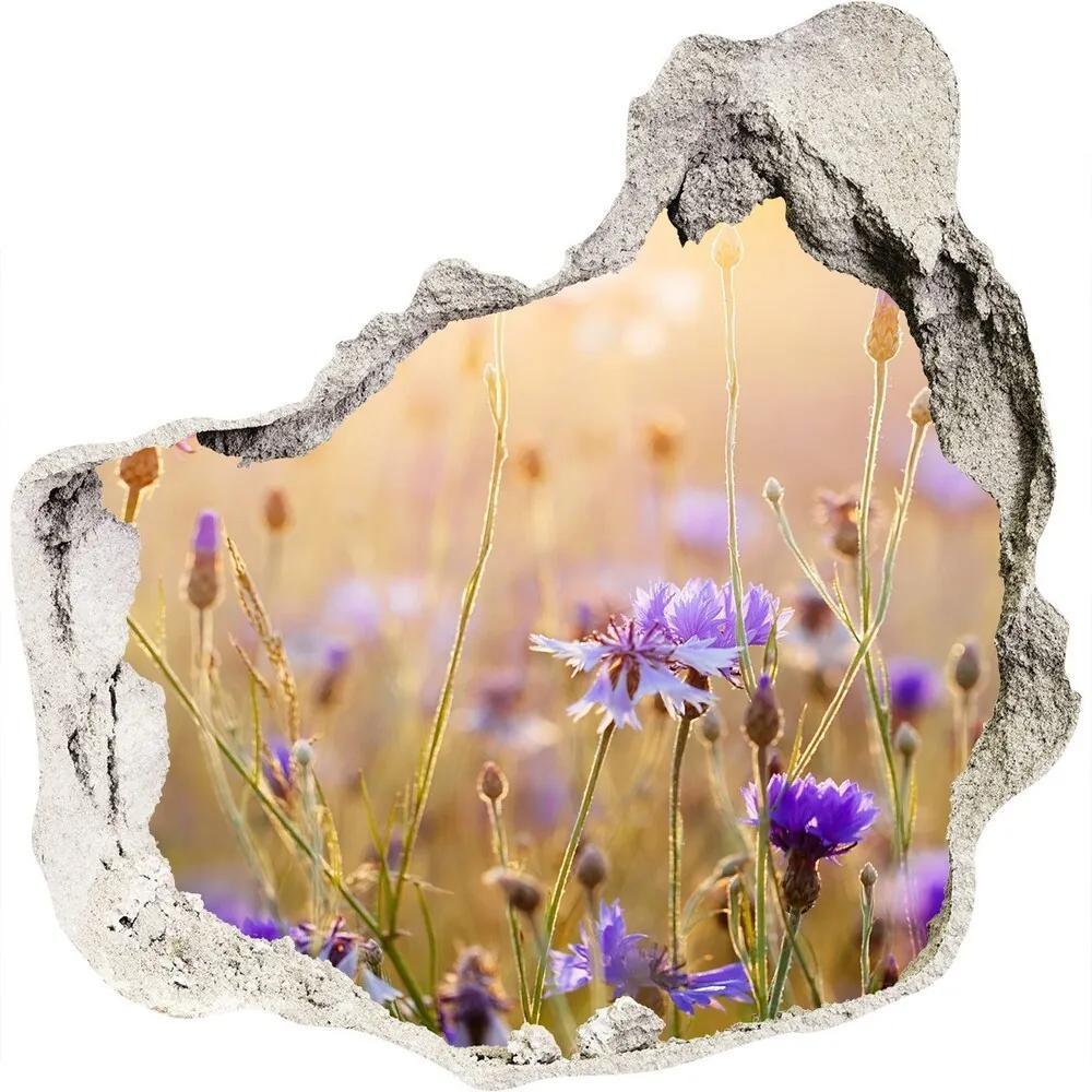 Autocolant autoadeziv gaură Flori de câmp