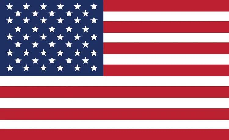 USA America Flag Fototapet, (208 x 146 cm)