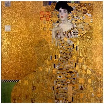 Reproducere tablou Gustav Klimt Adele Bloch-Bauer I, 80 x 80 cm