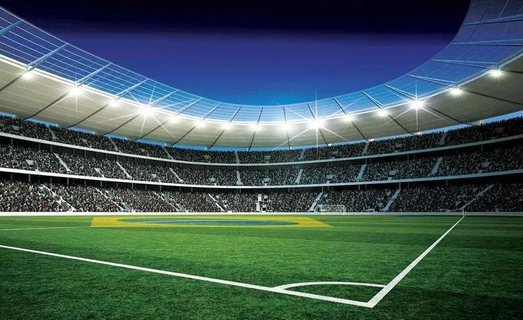 Football Stadium Fototapet, (208 x 146 cm)