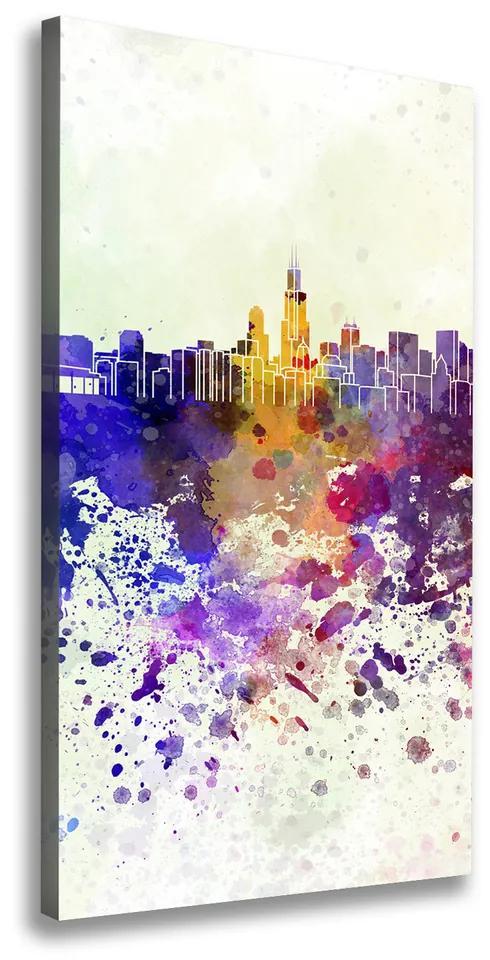 Print pe pânză Colorat Chicago